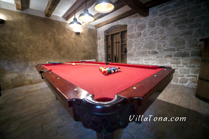 The Blliard Table