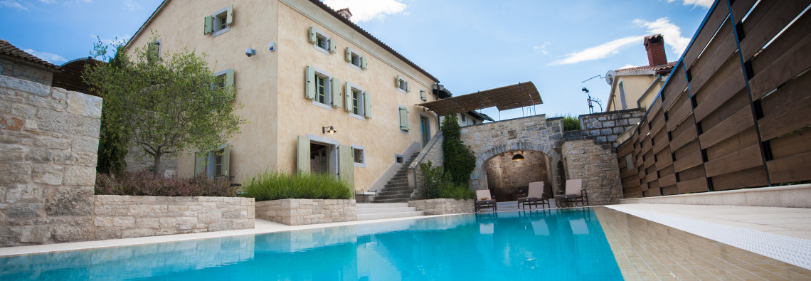 Villa Tona from the Pool