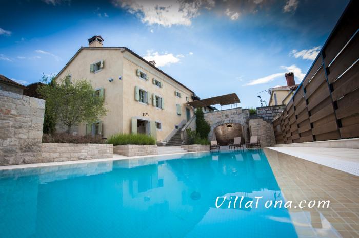 Villa Tona from the Pool